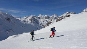 Skitour Aufstieg